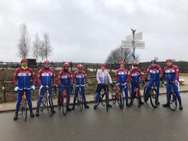 Ouverture I Can Wounded Warriors Cycling Team wielerjaar 2019